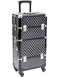 Songmics maleta para maquillaje y joyas, esmaltes y objetos JHZ04B