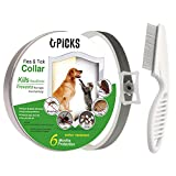 Best Flea And Tick Control Cats - U-picks Flea Tick Collar Dogs Cats,6 Month No-Toxic Review