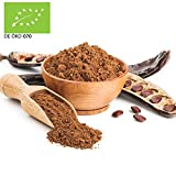 1000g Bio Carobpulver SUPERFOOD aus Italien | 1 kg | Johannisbrotbaum Pulver Kakao-Alternative 100% vegan und rein | ohne Zusätze 100% Naturprodukt Carob Pulver | kompostierbare Verpackung | STAYUNG