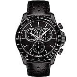 Tissot Men's Quartz Stainless Steel Casual Watch Color:Black (Model: T1064173605100)