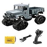 Robotrc Ferngesteuertes Auto, Fernbedienung Lastwagen Truck RC Geländewagen LKW Militärfahrzeuge 1:16 Skala 2.4G 4WD Racing Spielzeug (Grün)