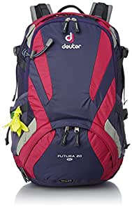 Deuter 20 ltrs Blueberry and Magenta Hiking Backpacks (4046051048222)