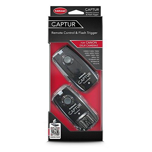Hähnel Captur Remote Control & Wireless Flash Trigger for Canon Black