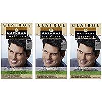 Clairol istinto naturale capelli colore per uomo 1Kit (Confezione da 3)