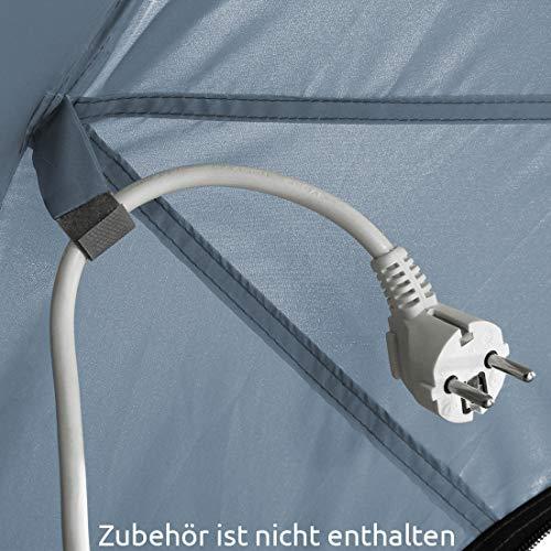 10T Sonnenschutz Pavilionia Arona UV 80+ Pavillon Moskitonetz Gartenzelt Sonnendach 540x470x220