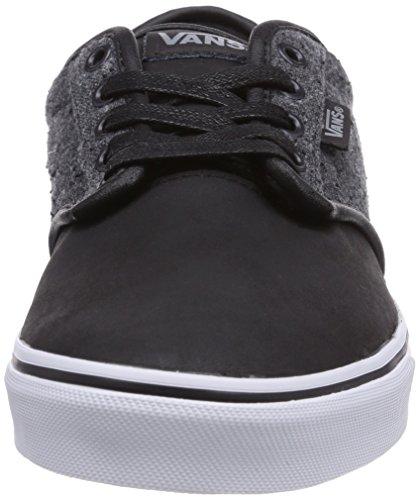 Vans M ATWOOD DELUXE MIX MATERIAL Herren Sneakers Grau (Charcoal)