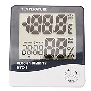 LCD Digital Temperature Humidity Meter Thermomete by A-szxctop