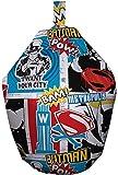 Batman Superman Bean bag-colourful Strip Stil Marvel Comics Sitzsack. Exclusive, offizielles Lizenzprodukt Design. Ideal für ein Schlafzimmer oder Spielzimmer, Stoff, Mehrfarbig, 52x 52x 38cm