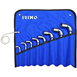 IRIMO 52–8-w Steckschlüsselsatz 8Wasserpfeife offen 6x 6(8–22)