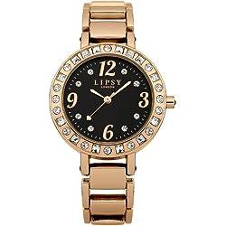 Lipsy LP121 Gold Coloured Bracelet Strap Watch