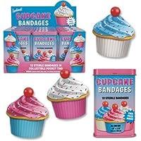 Accoutrements - Design Cupcake Pflaster (Kuchen) in Retro Blechdose preisvergleich bei billige-tabletten.eu