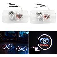 RCJ- Juego de luces LED para puerta de coche, proyector de sombra, kit de fácil instalación