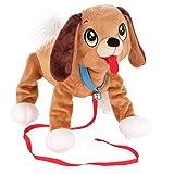 Epee Laufender Hund Boogie Dalmatian, Braune Hund an der Leine Spielzeug Active (Braun)