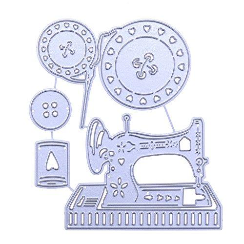 DIPOLA Stanzschablone Scrapbooking Schablonen Embossing Machine Prägeschablonen Schneiden Stanzformen, Zubehör für Sizzix Big Shot und Andere Stanzmaschine