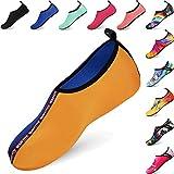 BIGU Scarpe da Immersione da Scoglio Bambini Ragazzi Scarpette da Bagno Mare Spiaggia Antiscivolo Scarpe Acqua per Beach Swim Surf Yoga Scarpe a Piedi Nudi dell'Acqua Scarpe Acquatici per Donna Uomo