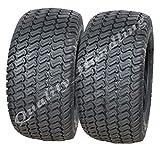Parnells Lot de 2 pneus pour Tondeuse à Gazon Wanda P332-20 x 10-4 Plis