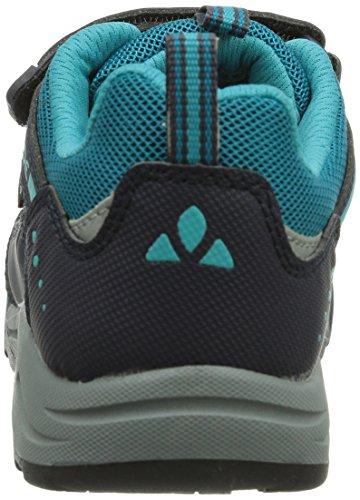 VAUDE  Kids Pacer Ceplex, Chaussures de fitness outdoor mixte enfant Turquoise (alpine Lake 585)