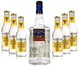 Martin Miller's Gin & Tonic Set - Martin Miller's Westbourne Strength Gin 0,7l (45,2% Vol) + 6x Fever-Tree Indian Tonic Water 200ml -[Enthält Sulfite]