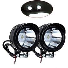 Kaigeli888 Faros LED delanteros para motos,Motocicleta Luz de marcha atrás 12V-80V 3W 2 piezas
