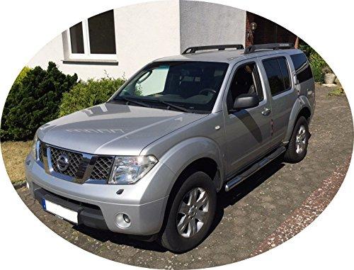 Auto Baby Sonnenschutz Scheiben tönen Sonnenblende Keine Folie Nissan Pathfinder R51 Bj.2005-12 Art. 27265-7