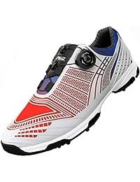 FUBULE Zapatos de Golf Agujas Menos Zapatos Botones rotatorios Impermeables Resistencia a la abrasión Antideslizante Multifuncional al Aire Libre