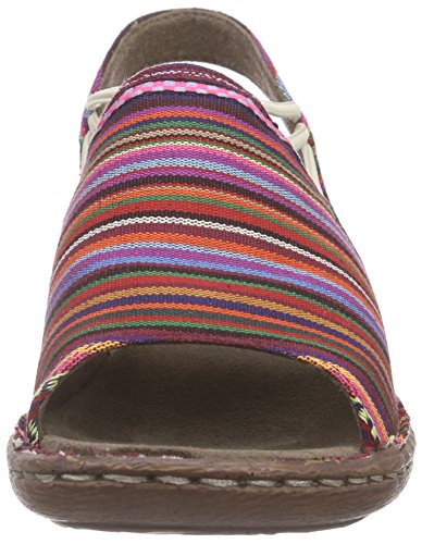 Jenny Korsika, Sandales fermées femme Multicolore - Mehrfarbig (multi 07)