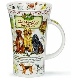 Dunoon The World of the Dog - Taza, diseño de perros de Glencoe