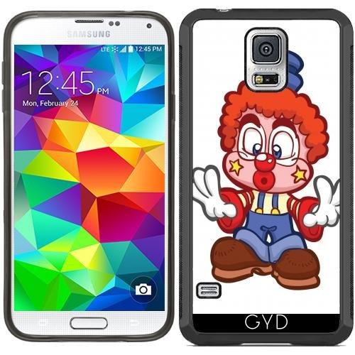 SilikonHülle für Samsung Galaxy S5 (SM-G900) - Hr Clown In Einer Kiste Gefangen by Cadellin (Clown Für Samsung Galaxy S5 Fall)