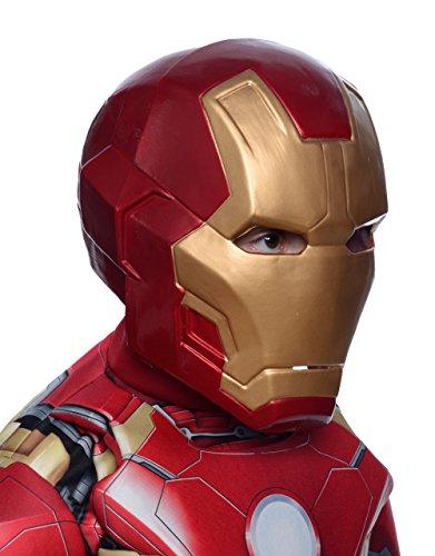 Iron Man Mark 43Deluxe 2Stück Maske, Kinder Avengers Age of Ultron Kostüm Zubehör