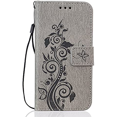 Buona Qualità PU Leather Wallet Paraurti per Apple iPhone 6Plus/6sPlus