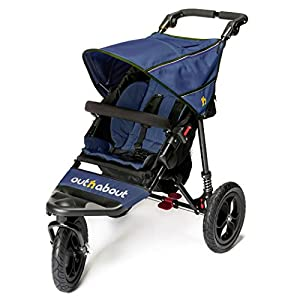 Out n about Nipper single pushchair V4 (Royal navy) from Out n about