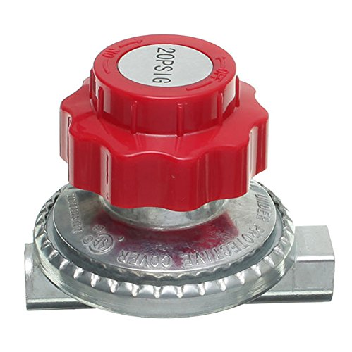 SaySure - 75mm Adjustable 20 psi Propane Regulator Type LP Gas -