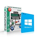 Microsoft® Windows 8.1 DVD mit original Lizenz. Europsoft Box. Papiere & Zertifikate. Alle Sprachen 32 & 64bit