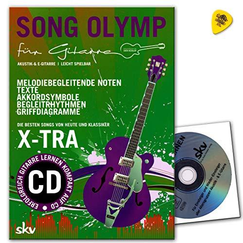 Song Olymp für Gitarre mit DVD, Dunlop Plek - besten Songs von heute und Klassiker - Sven Kessler Verlag 3938993324 9783938993323