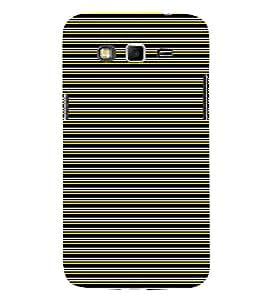 EPICCASE colored lines Mobile Back Case Cover For Samsung Galaxy Core Prime (Designer Case)