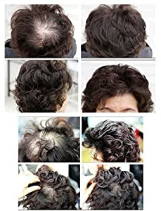 Maysu 100% human hair wigs for women and men curly short hair extensions by MAYSU