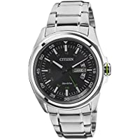 Citizen Analog Black Dial Men's Watch - AW0020-59E