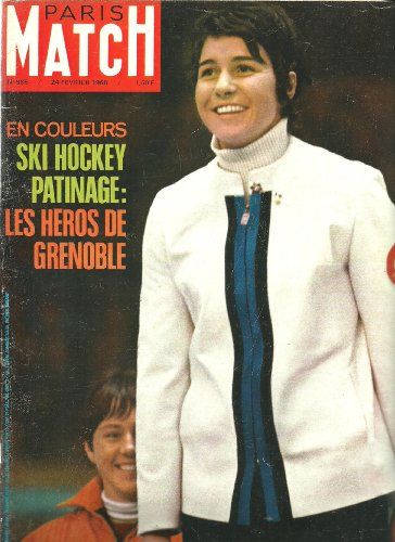 Paris Match 985 1968 Jeux olympiques de Grenoble Les héros ski patinage hockey (23 pages) par Collectif