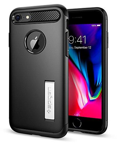 iPhone 7 Case, Spigen Slim Armor Case for iPhone 7 Black 042CS20647