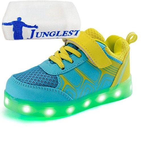 (present: Pequena Toalha) Junglest® 7 Cores De Carregamento Usb Led Brilhante Calçados Esportivos Calçados Esportivos Sneaker Sneakers Para C23 Conveniências Unissex Esperado