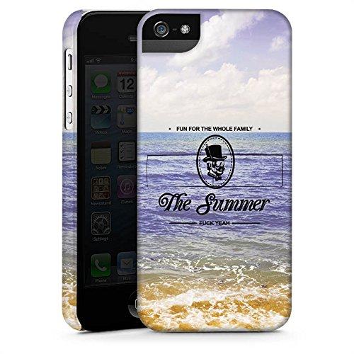 Apple iPhone X Silikon Hülle Case Schutzhülle Strand Ferien statement Premium Case StandUp