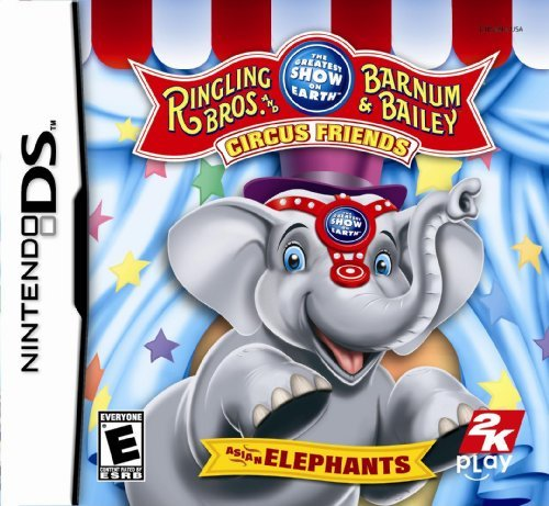 Ringling Bros. And Barnum & Bailey Circus Friends: Asian Elephants the Greatest Show on Earth by 2K