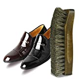 6 Inch: MyLifeUNIT Maple Wood Horsehair Shoe Shine Brush (6 Inch)