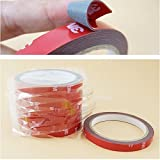 #5: 3M Car Sticker Auto Double Foam Faced Adhesive Tape Vehicle Double Sides Sticker Tissue Tape Car Decals Accessories Decoration