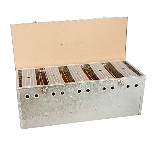 Breker Aluminium Transportkorb 5 Abteilungen groß - 2