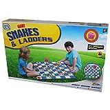 Riesige Garten Schlangen und Leitern Kinder Outdoor Familie Brettspiel