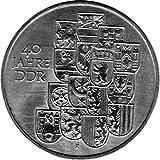 Münze 10 Mark Gedenkmünze 40 Jahre DDR, DDR 1989 A (Jäger: 1630) Stempelglanz, Kupfernickelzink