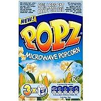 Popz 50% Reducción de grasa Salado palomitas de microondas 3 x 80g