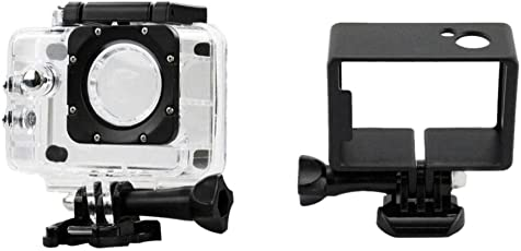 MagiDeal Frame Case+ 30M Underwater Diving Sports Waterproof Case for SJ4000 Camera