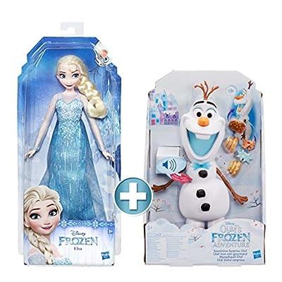 Disney Frozen - Muñeca Elsa (Hasbro E0315ES2)